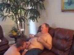 Daddy fucking son