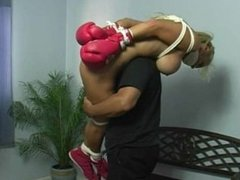 Boxers tied and gagged