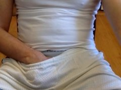 Gym Shorts Boner episode 1, leave comment for more videos