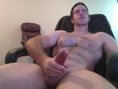 Big Dick Muscle Stud Jerks Off & Cums
