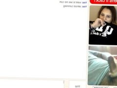 Girl Watches Me Cum Omegle
