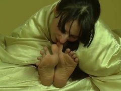 awesome teens 69 sucking toes