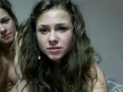 Polish twin lesbians