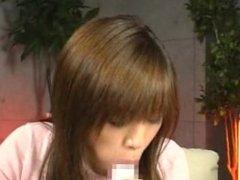 Yui Uehara's long tongue