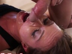 Fetish whore spunk soaked