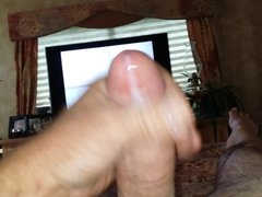 jerking off to a home video