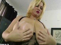 Enormous MILF Tits Need Your Cock For Tit Fucking