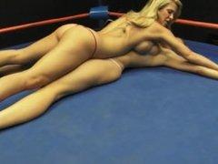 Wrestling: Cherie Deville vs. JC Marie - Topless Pindown Catfight