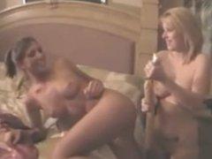 cams3.xyz - horny girl play with a double dildo shower