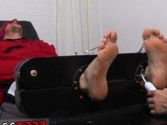 Gay boy sucking boy toe movieture Kenny Tickled In A Straight Jacket