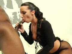 Jada Stevens takes on a monster black dick