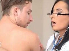 Beautiful Doctor Nymphomaniac Sex Machine
