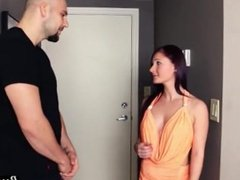 Petite teen teases and fucks brother in law