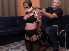 goldie blair bound and gagged #2