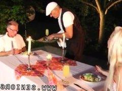 Asian teen massage old man Old John rigid nail youthful Anastaisa