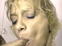 blonde slut likes spills