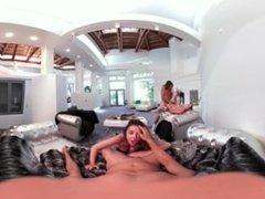 Porno 360 - Sexo en el salón  Porno-3D.es