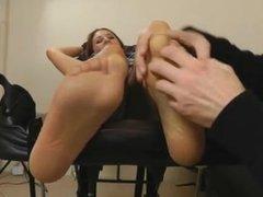 Jenny Badeau Tickling