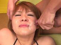 Rough toy porn with oral for nasty Rinka Aiuc