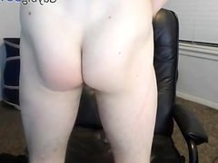 Str8 cum and eats it - 1st time on cam