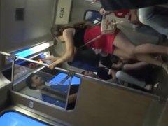 Lick Feet In Train