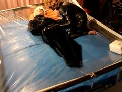 Bound in rubber bag