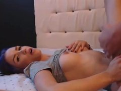 Hot Titted latina babe get licked and fucked