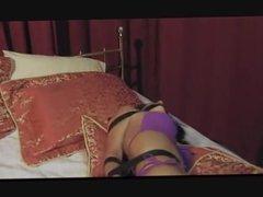 Bikini woman on bed part 1