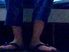 Brincando com meus chinelos Mormaii nº 43/44