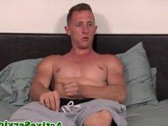 Solo soldier stud jerking cock