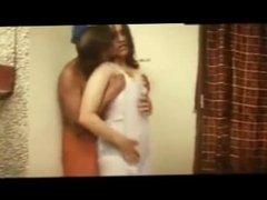 Mallu Babe Reshma enjoyed wet in Bra