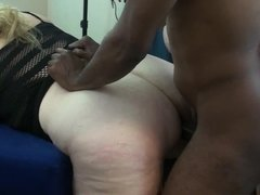 Trailer: 50 yo mature interracial bbw anal swinger party
