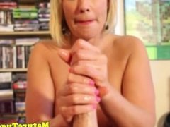 Milfs pov tugjob cums to climax over her face
