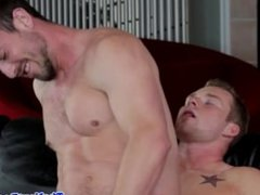 Muscle jock pounding tight with his big cock