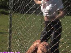British femdom pegs useless slave