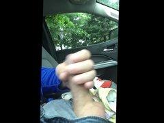 Jerking in My Car With Stolen Panties