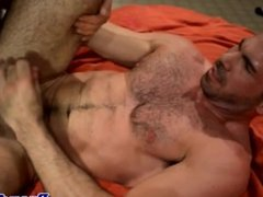 Hairy gay bear fucking his hunky boyfriend
