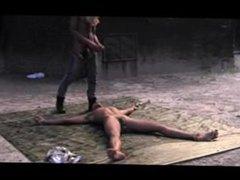 e slave bound to floor