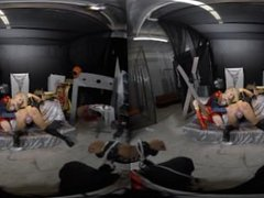 VR Super Hero Battle, Charlotte Stokely & April Brookes
