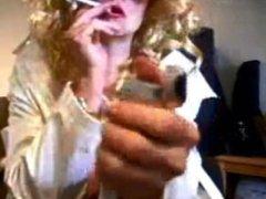 Smoking, Sex in Dirty Adult Theater, Blow Job Cum Eater -Mature Zoe Zane