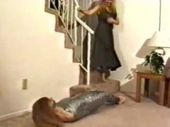 GIRL MUMMIEFIED BY 2 GIRLS