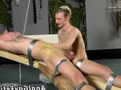 Twink males bondage stripped and gay bondage and bukake movies full