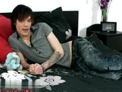 Emo gays asian and facial emo video Hot emo twink Lewis Romeo gets down