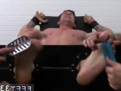 Suck foot fetish gay movietures Trenton Ducati Bound & Tickle d