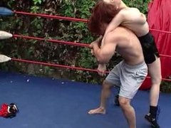 Dt 606 mixed topless fight
