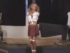 Cory Lane: School girl tied to a pole