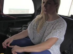 Beautiful Victoria Summers gets fucked in a cab