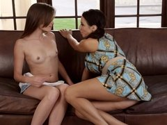 Ariella Ferrera and NOT Her Cute Step daughter