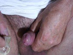 cum on white cotton pantie