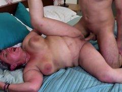 Old sluts seduce young boys